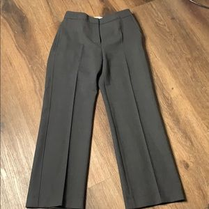 MaxMara Charcoal Ladies Dress Pants in EUC size 36